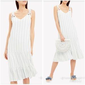 Rails Dresses - Rails Anthropologie Ciel striped dress L NWT